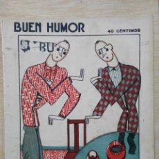 Coleccionismo de Revistas y Periódicos: REVISTA BUEN HUMOR - AÑO V, Nº 233 - MAYO 1926. Lote 164690570