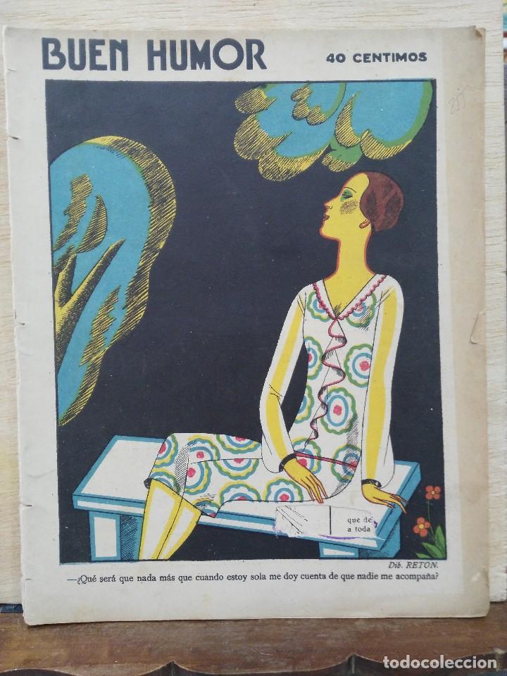 REVISTA BUEN HUMOR - AÑO V, Nº 255 - OCTUBRE 1926 (Coleccionismo - Revistas y Periódicos Antiguos (hasta 1.939))