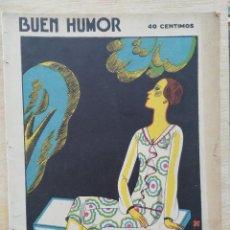 Coleccionismo de Revistas y Periódicos: REVISTA BUEN HUMOR - AÑO V, Nº 255 - OCTUBRE 1926. Lote 164690822
