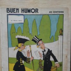Coleccionismo de Revistas y Periódicos: REVISTA BUEN HUMOR - AÑO V, Nº 257 - OCTUBRE 1926. Lote 164691062