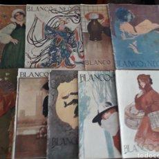 Coleccionismo de Revistas y Periódicos: NUEVE REVISTAS BLANCO Y NEGRO. Lote 164702384