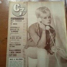 Coleccionismo de Revistas y Periódicos: C7 CINE EN 7DIAS 11MAYO 1963 . NÚM. 109 ELKE SOMMER -B.B.ESCÁNDALO EN ROMA -EL LIMBO , APRENDE A BA. Lote 164848340
