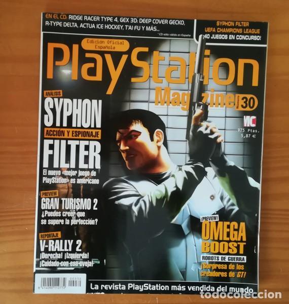 PLAYSTATION MAGAZINE 30, JUNIO 1999  SYPHON FILTER, OMEGA BOOST, GRAN  TURISMO 2, V-RALLY