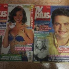 Coleccionismo de Revistas y Periódicos: REVISTA TV PLUS N. 328Y334. Lote 161384090
