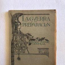 Coleccionismo de Revistas y Periódicos: LA GUERRA Y SU PREPARACIÓN. ENERO 1920. AÑO V. NÚMERO 1.. Lote 164916272