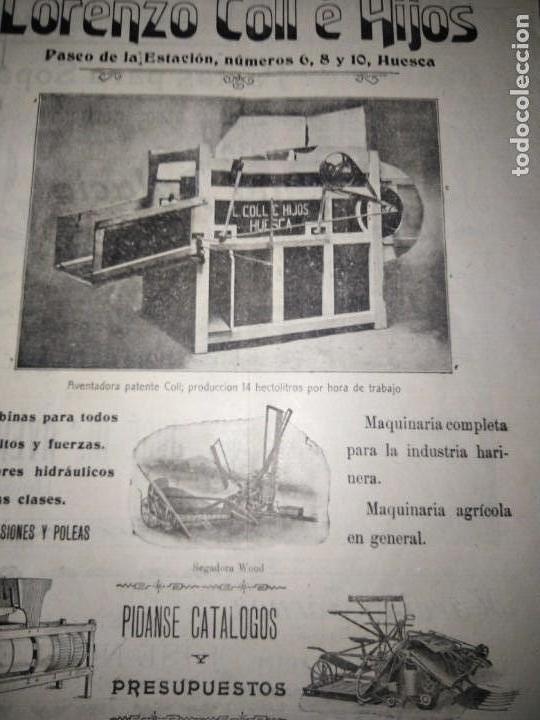 Coleccionismo de Revistas y Periódicos: EL DIARIO DE HUESCA NUMERO EXTRAORDINARIO CONMEMORAR LAS FIESTAS DE SAN LORENZO MIGUEL MOYA - Foto 2 - 164934990