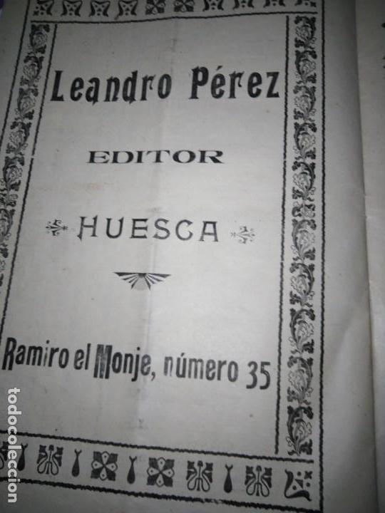 Coleccionismo de Revistas y Periódicos: EL DIARIO DE HUESCA NUMERO EXTRAORDINARIO CONMEMORAR LAS FIESTAS DE SAN LORENZO MIGUEL MOYA - Foto 5 - 164934990