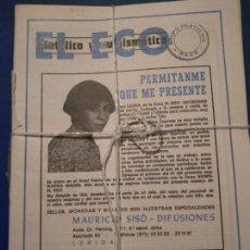 Coleccionismo de Revistas y Periódicos: EL ECO FILATELICO Y NUMISMATICO AÑO 1984 DISPONEMOS DE TODOS LOS NUMEROS PIDALOS.. Lote 164939954