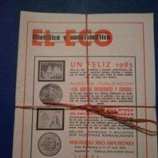 Coleccionismo de Revistas y Periódicos: EL ECO FILATELICO Y NUMISMATICO DISPONEMOS DE TODOS LOS NUMEROS PIDALOS.. Lote 164941130