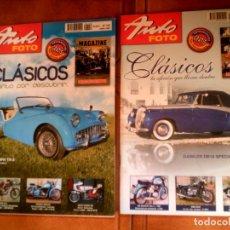 Coleccionismo de Revistas y Periódicos: LOTE DE REVISTAS AUTO FOTO N,152,Y 140 DE 2009 Y 2008. Lote 164955854