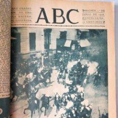 Coleccionismo de Revistas y Periódicos: PÁGINAS ABC. Lote 164968846