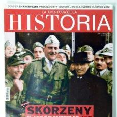 Coleccionismo de Revistas y Periódicos: REVISTA LA AVENTURA DE LA HISTORIA Nº 165, ESKORZENY. Lote 165069158