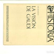 Coleccionismo de Revistas y Periódicos: MEDICINA & HISTORIA NOVIEMBRE 1968 FASCÍCULO XLIX. Lote 165073010