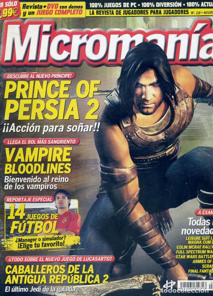 REVISTA MICROMANIA Nº118 NOVIEMBRE 2004 (Coleccionismo - Revistas y Periódicos Modernos (a partir de 1.940) - Otros)