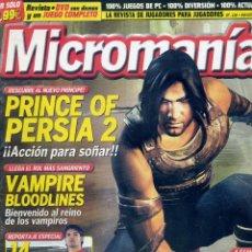 Coleccionismo de Revistas y Periódicos: REVISTA MICROMANIA Nº118 NOVIEMBRE 2004. Lote 165209830
