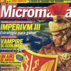 Coleccionismo de Revistas y Periódicos: REVISTA MICROMANIA Nº120 ENERO 2005. Lote 165210182