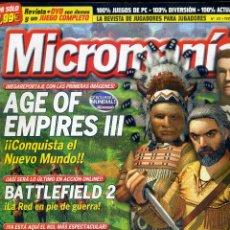 Coleccionismo de Revistas y Periódicos: REVISTA MICROMANIA Nº121 FEBRERO 2005. Lote 165210558