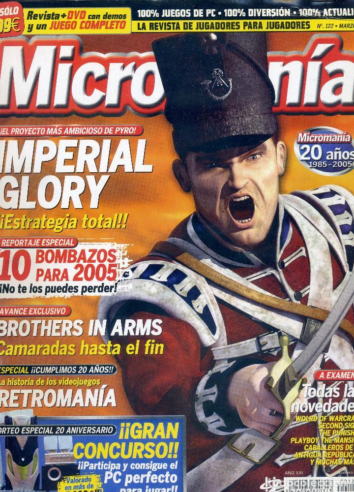 REVISTA MICROMANIA Nº122 MARZO 2005 (Coleccionismo - Revistas y Periódicos Modernos (a partir de 1.940) - Otros)