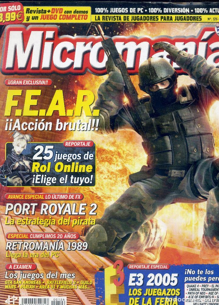 REVISTA MICROMANIA Nº126 JULIO 2005 (Coleccionismo - Revistas y Periódicos Modernos (a partir de 1.940) - Otros)