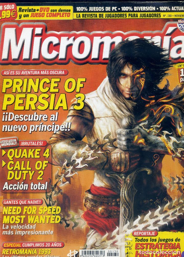 REVISTA MICROMANIA Nº130 NOVIEMBRE 2005 (Coleccionismo - Revistas y Periódicos Modernos (a partir de 1.940) - Otros)