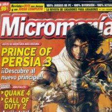 Coleccionismo de Revistas y Periódicos: REVISTA MICROMANIA Nº130 NOVIEMBRE 2005. Lote 165215214