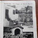 Coleccionismo de Revistas y Periódicos: INAGURACION PARLAMENTO CATALUÑA MANRESA ALBORAYA VALENCIA ROSTROS LAGARTERA REVISTA AÑO 1932. Lote 165238298