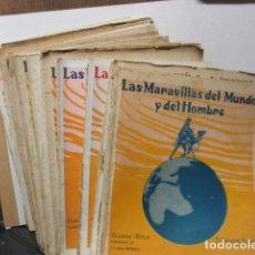 Coleccionismo de Revistas y Periódicos: LOTE DE 24 REVISTAS: LAS MARAVILLAS DEL MUNDO Y DEL HOMBRE. Lote 165251850