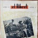 Coleccionismo de Revistas y Periódicos: HOGUERAS DE SAN JUAN DE ALICANTE. EL LLIBRET, FOGUERA DE ALFONSO EL SABIO, 1941.. Lote 165271070