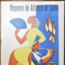Coleccionismo de Revistas y Periódicos: HOGUERAS DE SAN JUAN DE ALICANTE, 1963. HOGUERA DE ALFONSO EL SABIO ¡OBRI L'ULL!. Lote 165272254