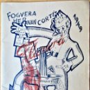 Coleccionismo de Revistas y Periódicos: HOGUERAS DE SAN JUAN DE ALICANTE, 1949. FOGUERA HERNÁN CORTÉS, ¡BON TABAQUET!.. Lote 165284106