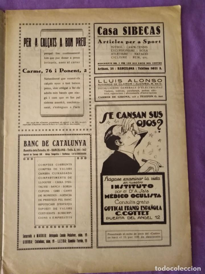 Coleccionismo de Revistas y Periódicos: vida social portavoz del centro de dependientes del comercio y de la industria barcelona 1927 n 3 - Foto 2 - 165378902