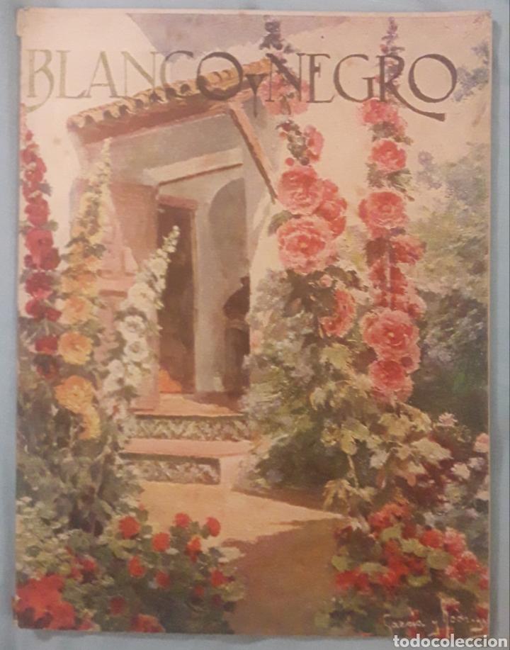 REVISTA BLANCO Y NEGRO 1924 (Coleccionismo - Revistas y Periódicos Antiguos (hasta 1.939))