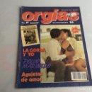 Coleccionismo de Revistas y Periódicos: ORGIAS Nº 19 UNA REVISTA ESPECIAL DE LIB - ( REVISTA EROTICA DE LOS 90 ). Lote 165515762