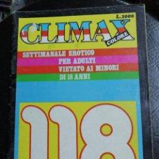 Coleccionismo de Revistas y Periódicos: CLIMAX N° 118. REVISTA PARA ADULTOS.. Lote 165533710