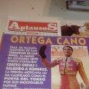 Coleccionismo de Revistas y Periódicos: G-JCA52C REVISTA DE TOROS TAUROMAQUIA APLAUSOS Nº 835 ORTEGA CANO . Lote 165548230