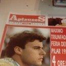Coleccionismo de Revistas y Periódicos: G-JCA52C REVISTA DE TOROS TAUROMAQUIA APLAUSOS Nº 839 NIÑO DE LA TAURINA . Lote 165548330