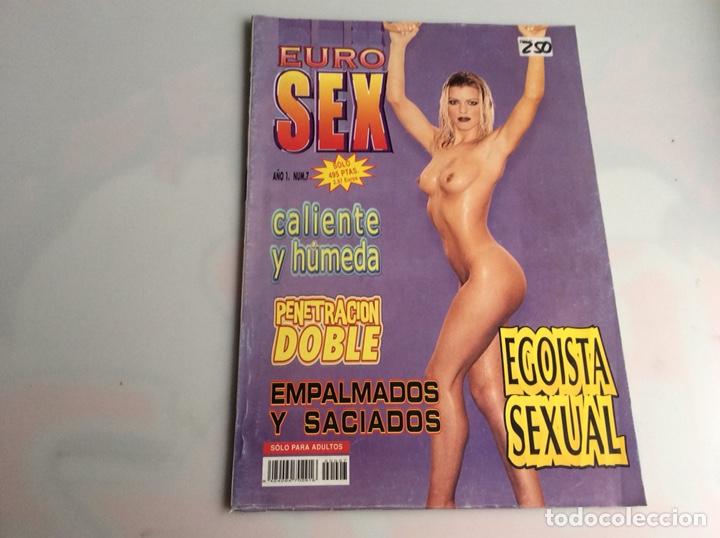 EURO SEX Nº 7 ( REVISTA EROTICA DE LOS 90 ) (Coleccionismo - Revistas y Periódicos Modernos (a partir de 1.940) - Otros)