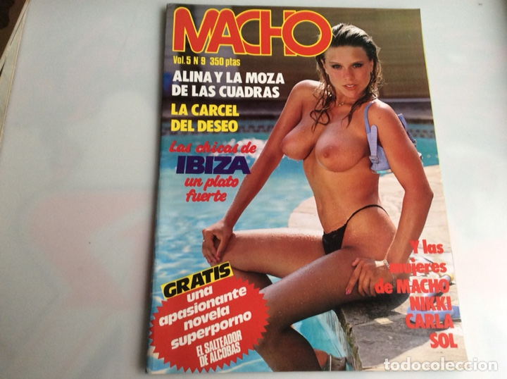 MACHO VOL. 5 Nº 9 - , PORTADA SAMANTHA FOX , REVISTA EROTICA DE LOS 80 (Coleccionismo - Revistas y Periódicos Modernos (a partir de 1.940) - Otros)