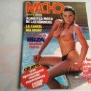 Coleccionismo de Revistas y Periódicos: MACHO VOL. 5 Nº 9 - , PORTADA SAMANTHA FOX , REVISTA EROTICA DE LOS 80. Lote 165639225