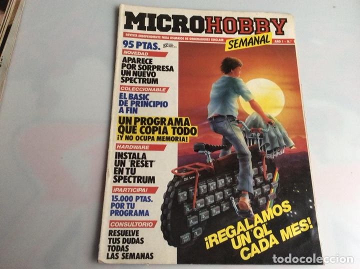 MICRO HOBBY (MICROHOBBY) Nº 1 SINCLAIR ZX SPECTRUM (Coleccionismo - Revistas y Periódicos Modernos (a partir de 1.940) - Otros)