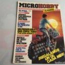 Coleccionismo de Revistas y Periódicos: MICRO HOBBY (MICROHOBBY) Nº 1 SINCLAIR ZX SPECTRUM. Lote 165644238