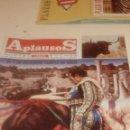 Coleccionismo de Revistas y Periódicos: G-JCA52C REVISTA DE TOROS TAUROMAQUIA APLAUSOS Nº 843. Lote 165682886