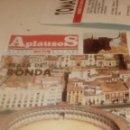 Coleccionismo de Revistas y Periódicos: G-JCA52C REVISTA DE TOROS TAUROMAQUIA APLAUSOS Nº 845 PLAZA DE RONDA . Lote 165682982