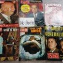 Coleccionismo de Revistas y Periódicos: SBJ LOTE 6 REVISTA MUERTE GENERALÍSIMO FRANCO HOLA SEMANA ACTUALIDAD GARBO. Lote 165743670