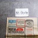 Coleccionismo de Revistas y Periódicos: SBJ PERIÓDICO NORTE EXPRES VITORIA 18 NOV 1975 PRE MUERTE GENERALÍSIMO FRANCO INEDITO EN TC. Lote 165743934
