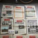 Coleccionismo de Revistas y Periódicos: SBJ LOTE 9 PERIÓDICO EL ALCÁZAR CONFEDERACIÓN NACIONAL COMBATIENTES MUERTO GENERALÍSIMO FRANCO. Lote 165744961