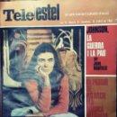 Coleccionismo de Revistas y Periódicos: TELE ESTEL EL SETMANARI CATALÀ D`AVUI *** NÚMERO 91 DEL 12 ABRIL 1968 MARIA DEL MAR BONET. Lote 165789454