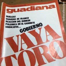Coleccionismo de Revistas y Periódicos: GUADIANA NÚMERO 37. Lote 165796385