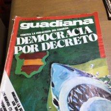 Coleccionismo de Revistas y Periódicos: GUADIANA NÚMERO 38. Lote 165796469