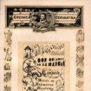 Coleccionismo de Revistas y Periódicos: CRÓNICA CERVANTINA Nº 36 - MARZO ABRIL 1936 - QUIJOTE. Lote 165810262